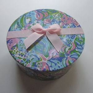 Lilly Pulitzer Multi-Color Gift Trinket Makeup Box